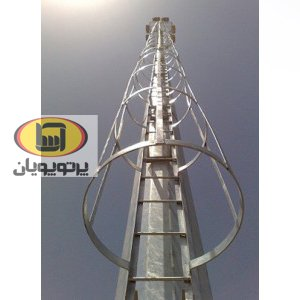 برج روشنایی با سبد ثابت آسا