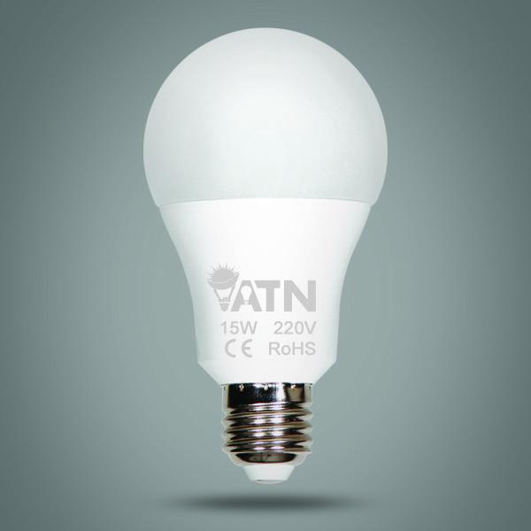 لامپ حباب دار 15 وات آریاترانور LED lamp