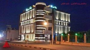 نورپردازی نما ساختمان توسط شرکت پایارسا الکترونیک