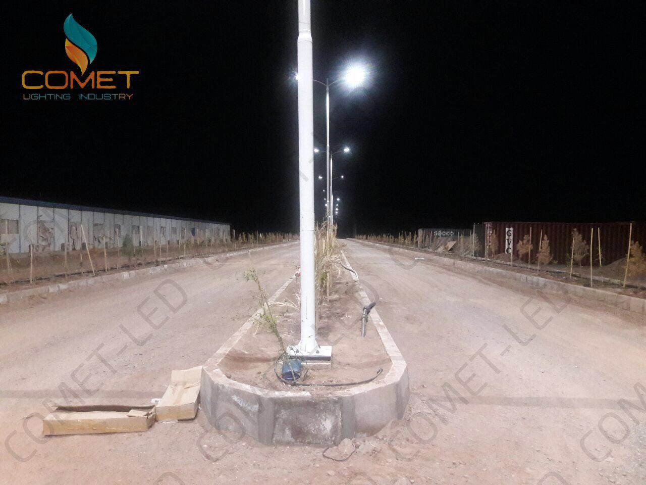 چراغ خیابانی 150وات 5000k CREE