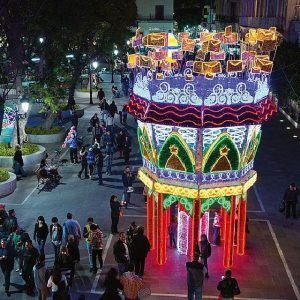 تاثیر نورآرایی و آذین بندی در شهر