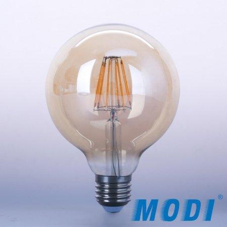 لامپ حبابی فیلامنتی G125 دکوراتیو مودی