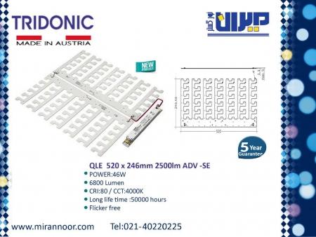 ماژول های مربع برند TRIDONIC