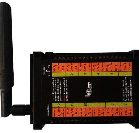 کنترلر وای فای و ریموتی رله LT-دوازده کانال ledart