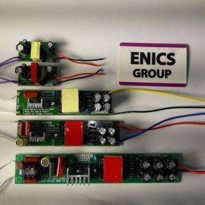 خانواده درایور های تولیدی گروه فنی و مهندسی enics