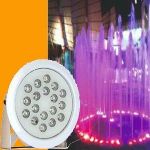 پروژکتور پایه دار ضد آب 18 وات RGB