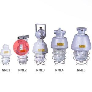 چراغ های مستقیم و مخلوط آویز ضدانفجار NML