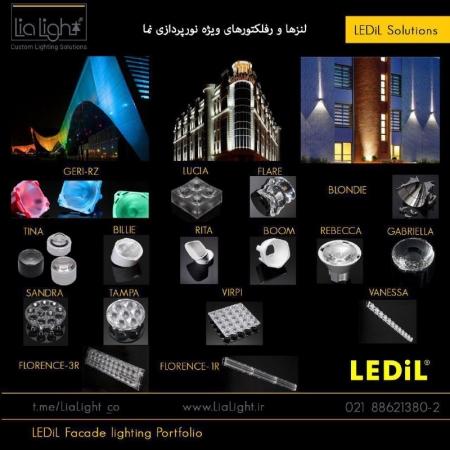لنزها و رفلکتورهای متنوع LEDiL، راهکارهایی فوق العاده برای روشنایی و نورپردازی نما