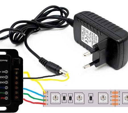 کنترلرledart وای فای ال ای دی RGB