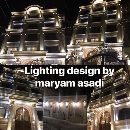 طراح،مشاور و مجری نورپردازی حرفه ای نما