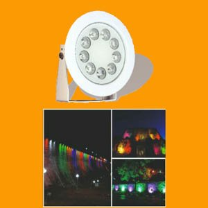 پروژکتور پایه دار ضد آب 9 وات RGB