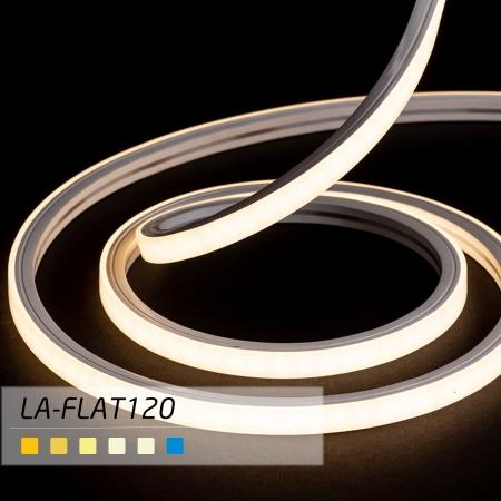 ریسه Neon Flex با تراشه ۲۸۳۵ با تراکم ۱۲۰ مدل FLAT لوپ لایت