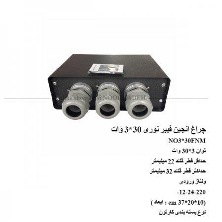 موتور فیبر نوری 30*3 وات NO3*30FNM